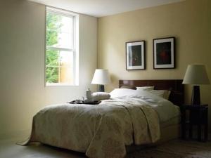 ベッド風景